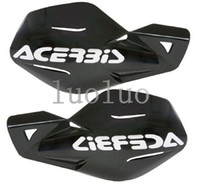 Wholesale Dirt Bike Honda - Acerbis Uniko Black Plastic Hand Guards Fits Honda Dirt Bikes Motorcycles