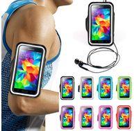 iphone sport bands großhandel-Wasserdichtes Armband Sport Gym Running Armband Protector Soft Tasche Hülle für iPhone 4 5 6 4,7