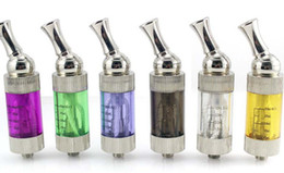 Wholesale Ego T Dual Coil - iClear 30 Clearomizer Replaceable Dual Coil atomizer 3.0ml iclear 30 vaporizer for eGo eGo-c eGo-W eGo-T evod Battery DHL Free