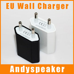 Wholesale Cheaper Mobile Phones - REAL 1A EU Wall Charger Universal High Quality Cheaper for Mobile Phones 500pcs up