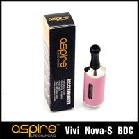 Wholesale Vivi Genuine - Wholesale Vivi Nova S Dual Coil Atomizer 100% Genuine Aspire BDC E Cigarette Ego Clearomizer Vaporizer Hot Selling 2014