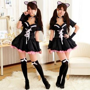Cat Costume Anime Maid Cat Ladies / Cat Girl Role Playing Uniform Party / Ds Costumes Witch Dress Cosplay Costume Dresses Casual Cosplay Costume Sexy ...  sc 1 st  DHgate.com & Cat Costume Anime Maid Cat Ladies / Cat Girl Role Playing Uniform ...