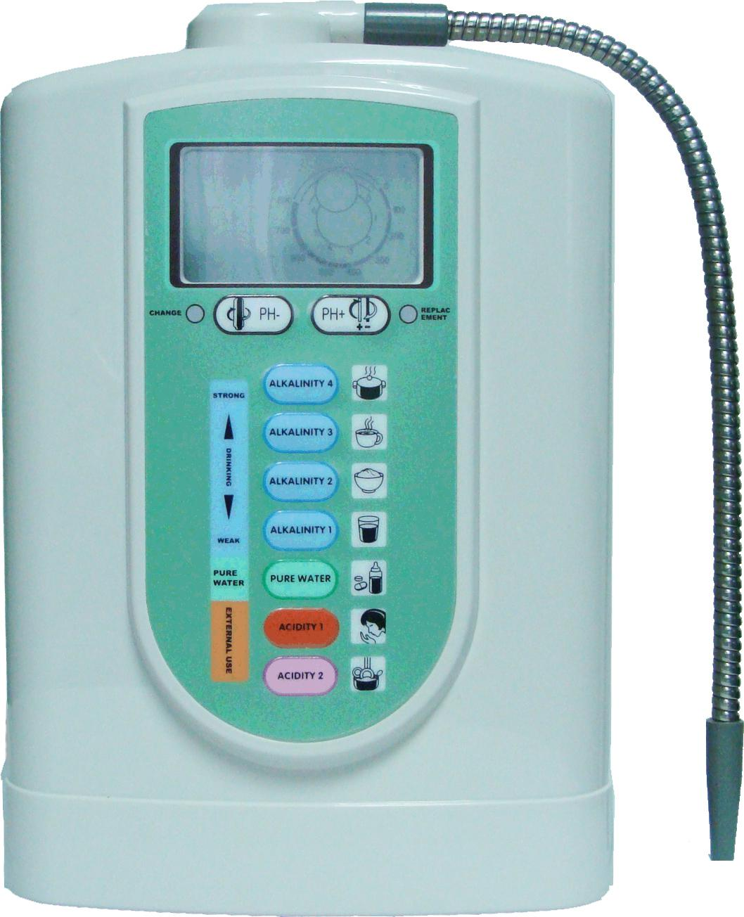 alkaline ionizer and water filtration machines