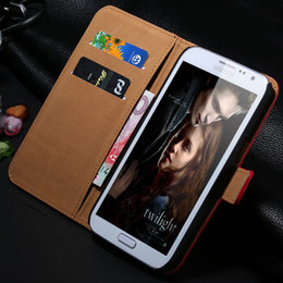 Wholesale Genuine Case Cover S3 - New items Luxury Genuine Leather Case For Samsung Galaxy S3   S5 III i9300 With Card Holders Wallet Stand Flip Retro Cover RCD