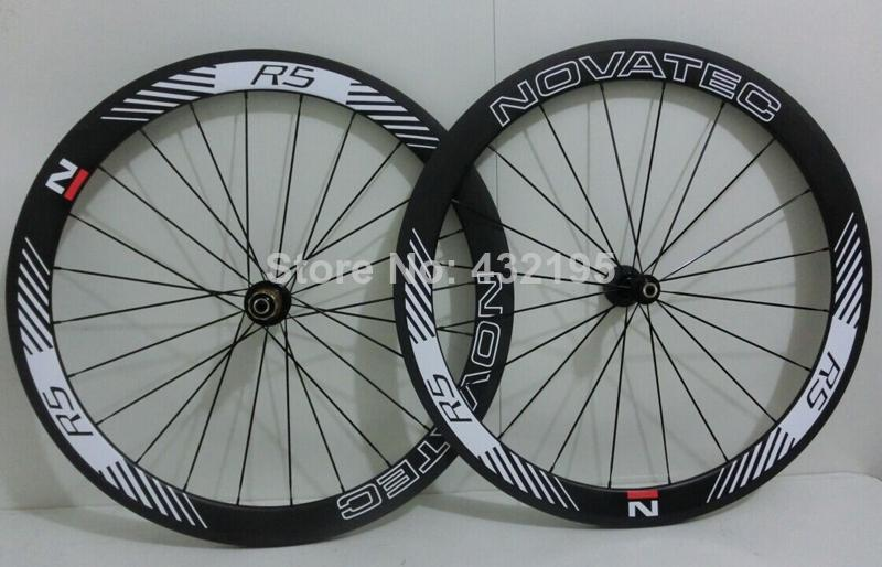 Factory Sell 100 Toray Full Carbon 3k Novatec R5 Road Bicycle