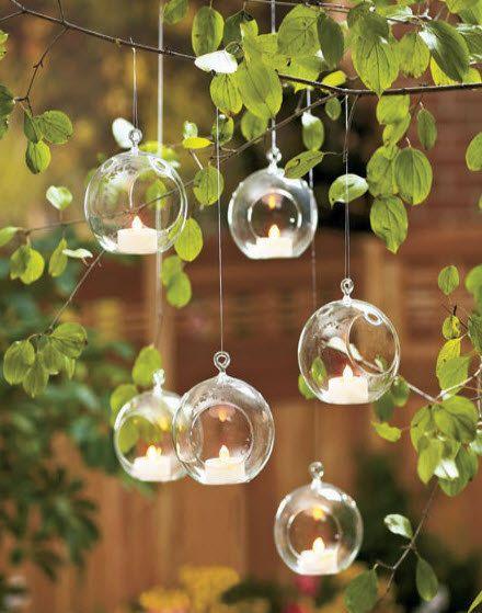Hanging Air Plant Terrarium,Moss Succulent Planters/Wedding Candles,Glass  Ball Tealight Holders - Wedding Candlestick Or Home Decor Wedding  Candlestick ...