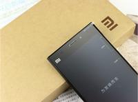 "Wholesale Mi3 M3 - 2014 Original Xiaomi Mi3 WCDMA Qualcomm Quad Core Xiaomi M3 Mobile Phone 2GB RAM 64GB ROM 5"" Miui V5 1080p 13mp Camera NFC GPS"