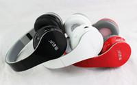 Wholesale Dj Headphones Black High Performance - Drop shipping Bluetooth Wireless Headphones Over-Ear DJ Headphones High Performance Noise cancelling For iPhone iPad iPod BT-528 in stock