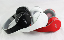 Wholesale Dj Headphones High Performance - Drop shipping Bluetooth Wireless Headphones Over-Ear DJ Headphones High Performance Noise cancelling For iPhone iPad iPod BT-528 in stock