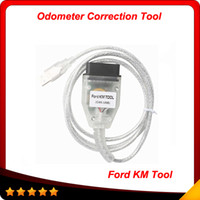 Wholesale odometer correction tool cars - 2014 Ford ford KM Tool CAN BUS odometer correction TOOL for Ford Car Hot selling OBD03