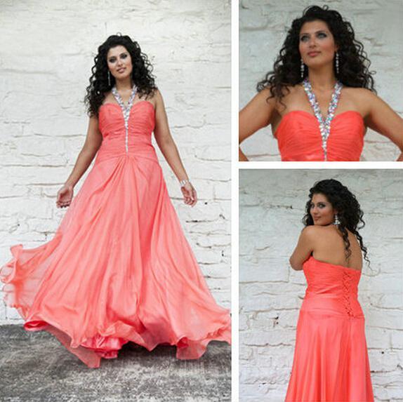 Abendkleider Hot Sale Elegant Sparkle Beadings Modern Design Chiffon ...