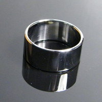 Wholesale Penis Delay Ring S - sex toy Stainless Steel Delay ring Cock Ring For Man Penis ring Scrotum Bondage ring S