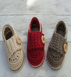 Wholesale Crochet Shoes Baby - 6%off!Crochet baby booty, small leather shoes, baby shoe boy or girl sand and giftbox cherry or beige,HIGH Quality, infant,3pairs 6pcs,