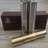 Wholesale Ego Battery Mod Stainless Steel - Top Quality!!!DHL free Nemesis mod stainless steel mechanical mod battery body mod E cigarette starter kit for EGO 510 atomizer DHL free