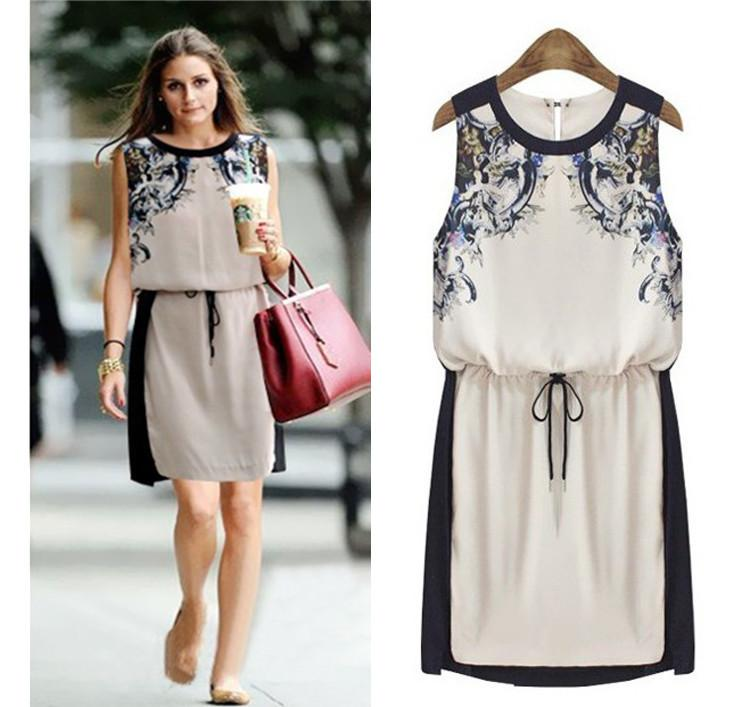2017 New Summer Women'S Clothing High Quality Fashion Casual Dress ...