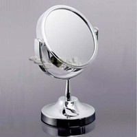 Wholesale Mirrored Side - Beauty Makeup Cosmetic Mirror & Double-Sided Normal and Magnifying Stand Mirror#T01