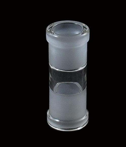 großhandel weiblich zu weiblich glas adapter adapter gerade rauchen bong wasser rauchen zubehör rohrbefestigung kostenloser versand