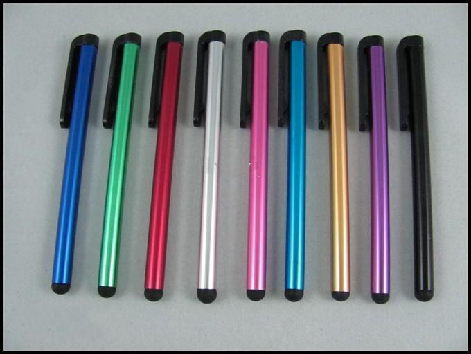 الجملة - الشاشة بالسعة القلم القلم اللمس الأقلام مع حزمة البيع بالتجزئة 10 ألوان