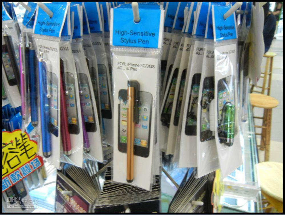 Penne touch touch a penna stilo schermo capacitivo con pacchetto di vendita al dettaglio i