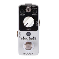 Wholesale Analog Flanger - Mooer Eleclady Analog Flanger Pedal Classic analog flanger sound with filter mode and oscillator effects Full metal shell True bypass MU0343