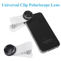Clip Polariscope Fish Eye Lens High Clarity HD CPL Filtro Profissional Universal para Todos Celulares iPhone Samsung HTC Tablet etc PA1586