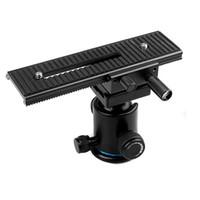 Wholesale Macro Focusing Rail Slider - 2-way Macro Shot Focusing Focus Rail Slider for Canon Nikon Sony Olympus Pentax Camera D-SLR D1083