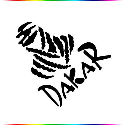Off Road Car Stickers Motorcycle Stickers Dakar Sticker - Motorcycle stickers