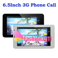 Wholesale 3G MTK6572 Dual Core Android Phablet inch Tablet PC G WCDMA MHZ MB GB GPS WIFI Bluetooth Dual Camera Single SIM