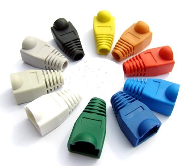 الجملة - 1000 قطع rj45 شبكة كابل التوصيل الأحذية كاب cat5 cat6 جديد شحن مجاني