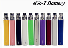 Wholesale Egot T - eGoT battery Electronic Cigarette battery ego t battery for ce4 ce5 ce6 atomizer colorful ce4 Electronic Cigarette battery DHL free ship