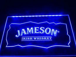 Wholesale Jameson Bar Sign - LE159b- Jameson Whiskey Bar Club Pub Neon Light Sign