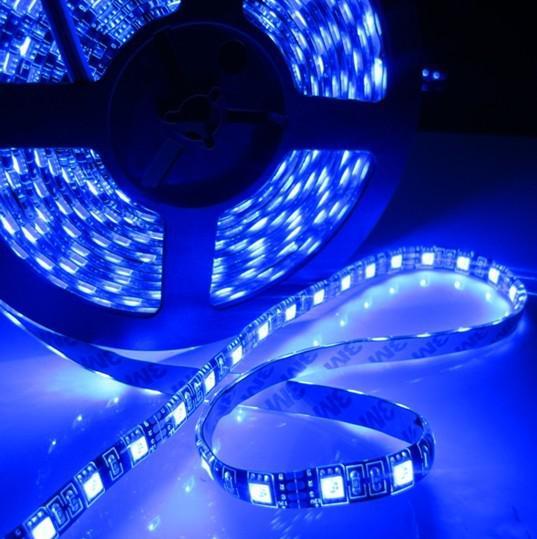 5M 300 주도 RGB 5050 SMD 유연한 LED 스트립 빛 60 LED / M 방수 IP65 led 양고기 5050 블랙 PCB DC 12V