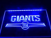 Wholesale Giant Sign - LD051b- York Giants Bar Logo Neon Light Signs
