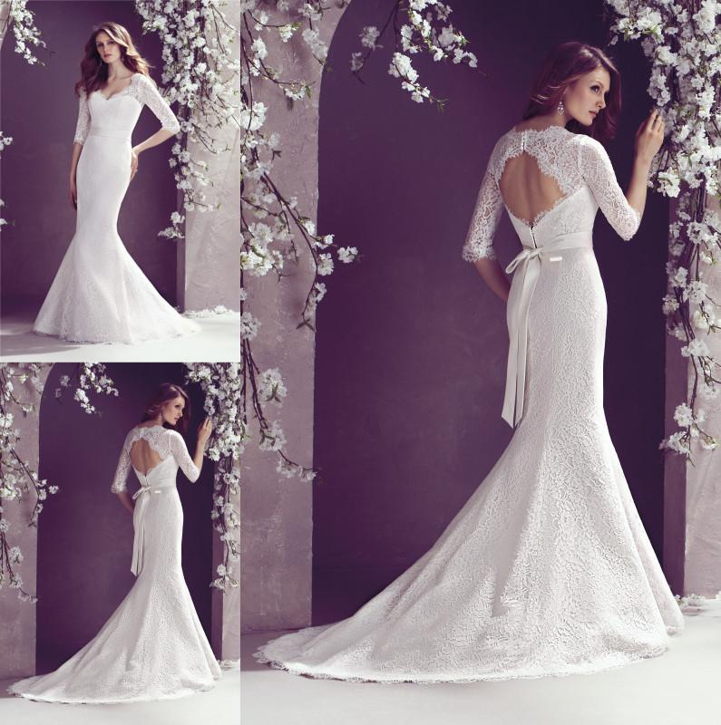 2014 Vintage Lace Bridal Gown Sweetheart Neckline With
