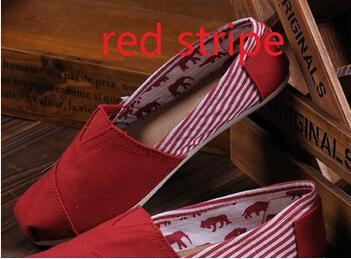 röd med rand