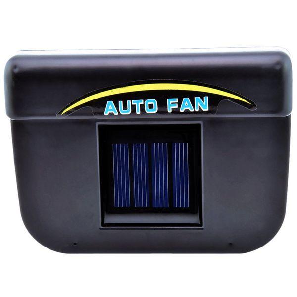 DHL 20pcs 2v 0.3w Solar Power Auto/Car Cool Air Conditioning Cooler Fan