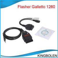 Wholesale Ecu Tune - Galletto1260 Promotional EUC Flasher EOBD II Flasher galletto 1260 ECU chip tuning tool Free Shipping