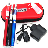 Kit simple o kit doble para 1100mah Evod mini protank 1 evod twist x9 pyrex vidrio kit de arranque de cigarrillo electrónico kit de cigarrillos e cig