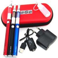 Wholesale X9 Mini Starter - Single kit or double kit for 1100mah Evod mini protank 1 evod twist x9 pyrex glass electronic cigarette starter kit e cig cigarette kit