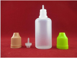 Wholesale Ego V Twist - Cheap Wholesale 100  pcs PE Empty 5ml 10ml 15ml 20ml Plastic Dropper Bottles With Childproof Cap With Needle Tips For Ego Twist W V C