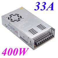 Led Dc Voltage Display online - 400W 12V 33A AC 110V 220V to DC Voltage Transformer Switch Power Supply for Led Strip LED display billboard Led control H11013