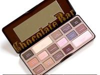 ingrosso tavolozza bar-Nuova gamma di ombretti al cioccolato con ombretto e set di ombretti naturali in polvere di cacao (5 pezzi) spedizione gratuita