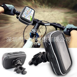 "Wholesale Gps Satnav - 4.3"" Waterproof GPS Phone SatNav Case Motorcycle Motorbike Bike Handlebar Mount Holder car"