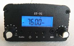 Antenas pequeñas online-1W / 7W 76-108MHZ ST PLL emisora de radio de radiodifusión + pequeña antena