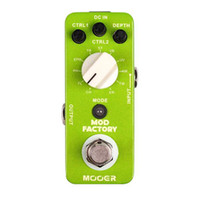 Wholesale Mooer Mods - Mooer Mod Factory Modulation effect Pedal Collected 11 kinds of classic modulation effect full metal shell True bypass MU0526