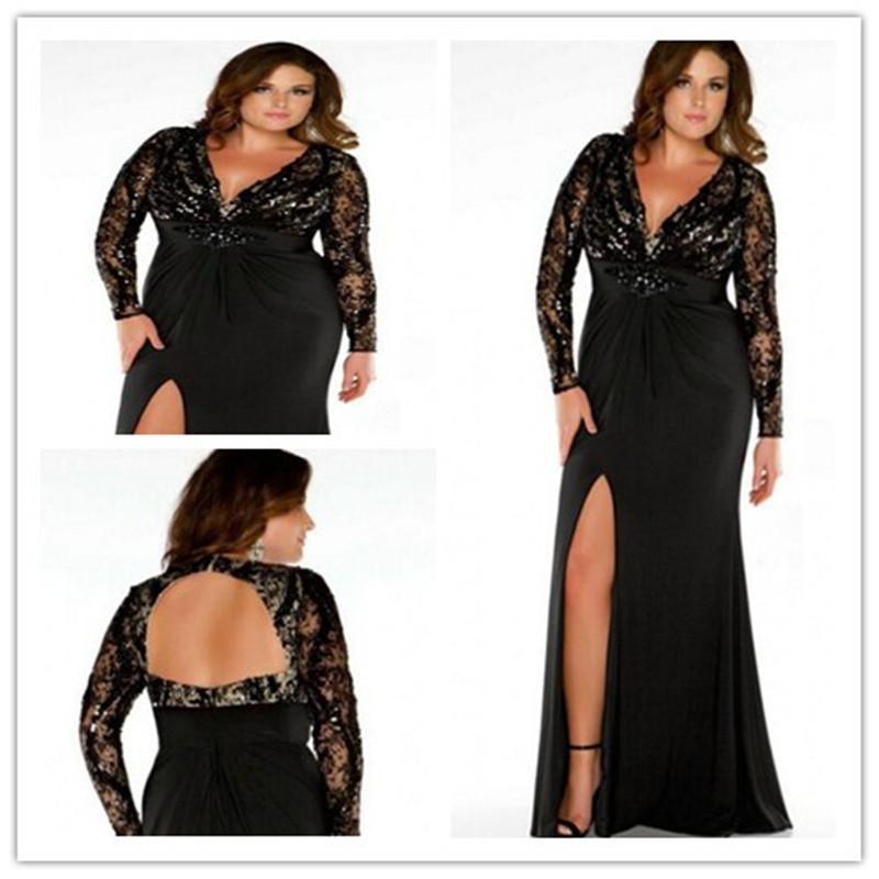 2014 Sexy Plus Size Prom Dresses Evening Gown Party Time Dress With ...