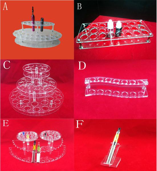 Supporto per espositore da tavolo staccabile / ricostruibile Accessori per sigarette e supporto per sigaretta elettronica Ego Battery Atomizer E Liquid