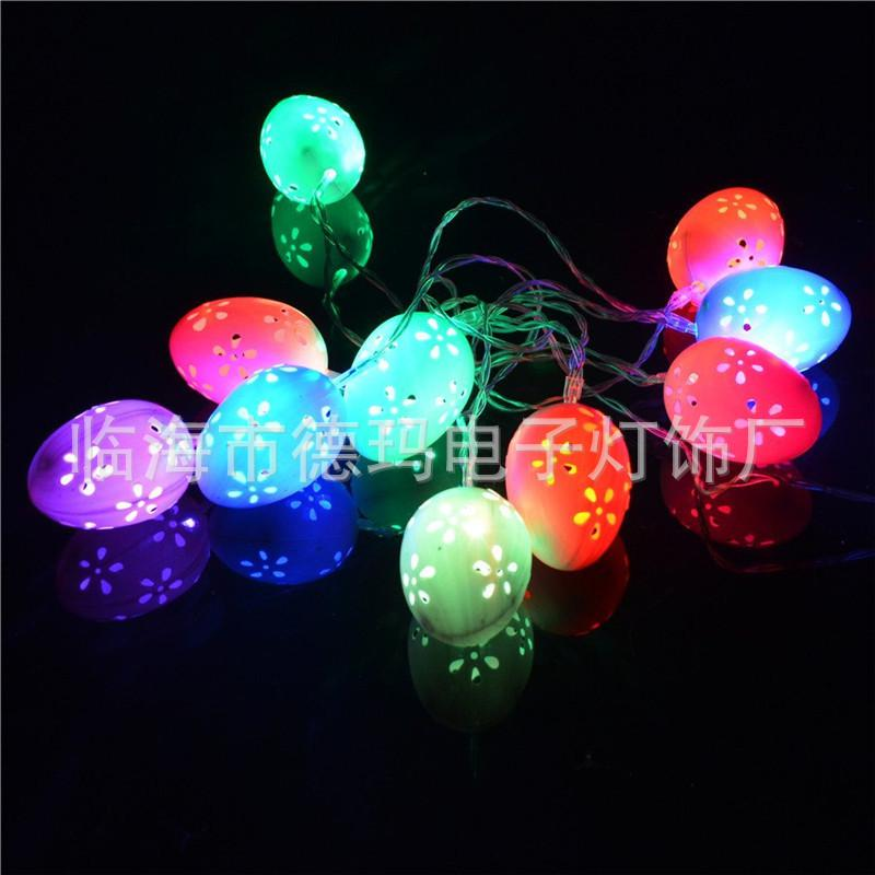 Cheap Hot New Led Christmas Lights String Lights Christmas Tree Easter Egg Egg Pendant ...