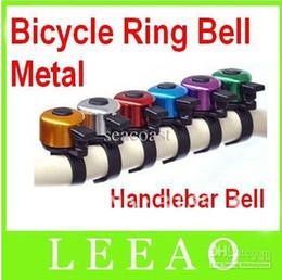 Wholesale Bicycle Rings - 600pcs lot # Mini Metal Ring Handlebar Bell Sound for Bike Bicycle Free FEDEX shipping