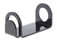 akrilik e-sigara gösterge standı toptan satış-Akrilik e çiğ ekran standı raf siyah beyaz renk araba tutucu raf kutusu için buhar mech mod mekanik vape ecig ego vv evod e-sigara DHL